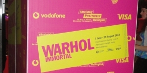 The Photobooth - WARHOL: IMMORTAL exhibition